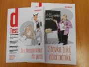 Brožury dTestu v informačních centrech města