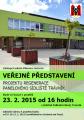 Veřejné představení Projektu regenerace panelového sídliště Trávník