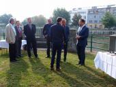Zahájení stavby protipovodňových opatření