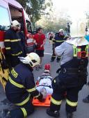 Záchrana zraněných osob na Bečvě