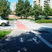 Propojení cyklostezek v okolí OK ulic Želatovská