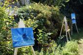 Duchovní zahrada - zahrada chrámu sv. Cyrila a Metoděje