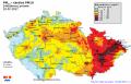 mapa smogovka únor 2017