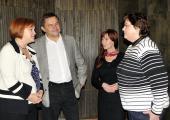 Setkání s Lenkou Kohoutovou poslankyní Parlamentu ČR 9 1 2012 (2)