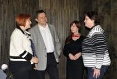 Setkání s Lenkou Kohoutovou poslankyní Parlamentu ČR 9 1 2012 (3)