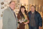 Břetislav Passinger potěšil 1001  návštěvnici kytičkou
