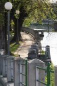 Promenáda kolem řeky Bečvy