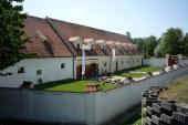 Z bývalého pivovaru je dnes vstupní budova do areálu Muzea vesnice jihovýchodní Moravy - na jaře