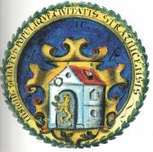 Znak města podle pečeti z roku 1607