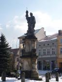 Socha sv. Floriána na náměstí