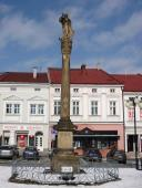 Socha Panny Marie na náměstí