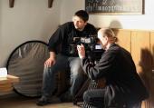Z natáčení dokumentu Pod ochranou Žerotínů