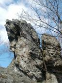 080 Zřícenina hradu Rabštejn poblíž obce Oskava