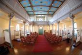 074 Interiér synagogy v Břeclavi
