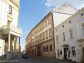 162  Zde bydleli Žerotínové, Žerotínský palác, Purkrabská ulice, Olomouc