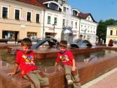0030 Kašna, jak má být,  Dolný Kubín, Slovensko