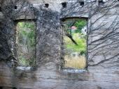 0029 Pohled z minulosti do současnosti, Podaca, Chorvatsko