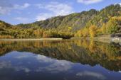0048 Podzim na Bajkalu, Bajkal, Poluvinaja, Rusko