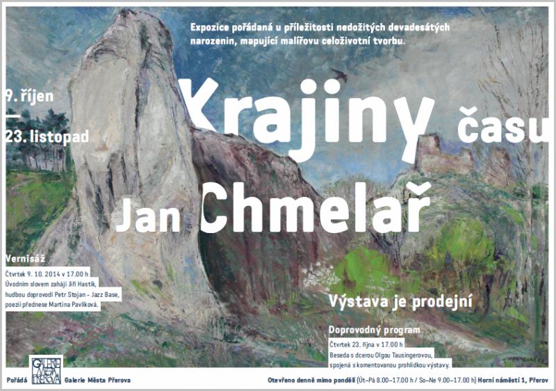 Jan Chmelař plakát