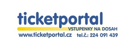 Logo Ticketportal, obrázek se otevře v novém okně