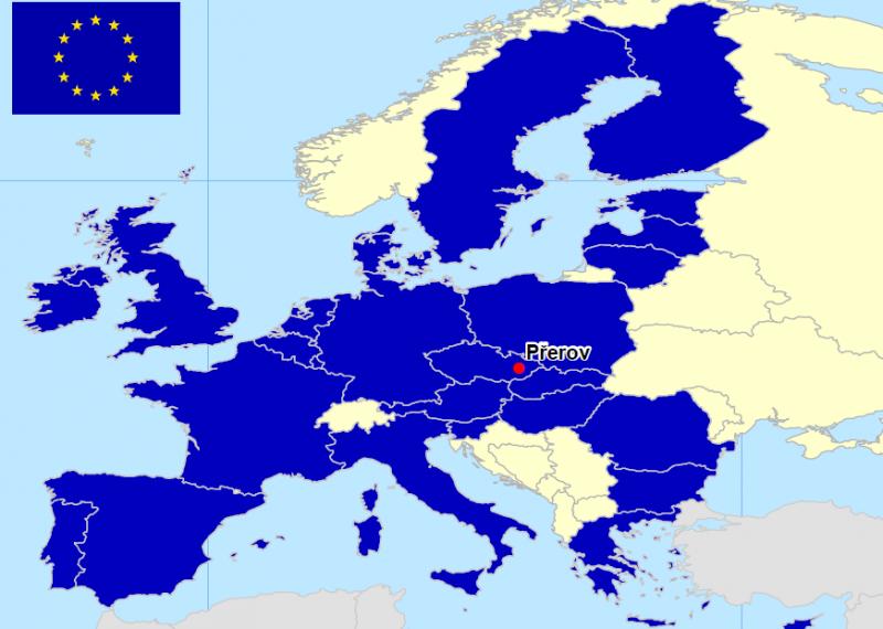 Přerov v EU, obrázek se otevře v novém okně