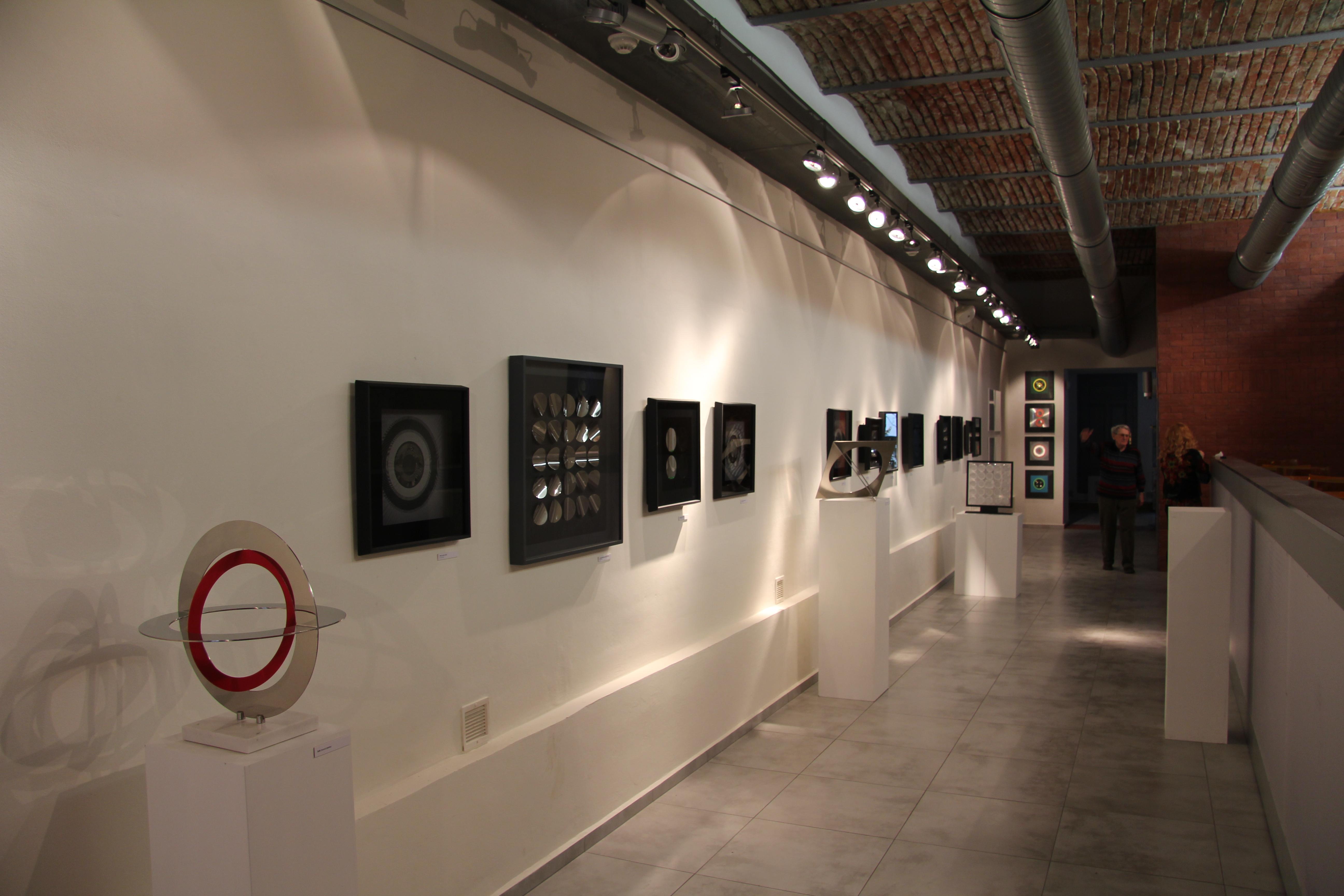 Pohled do instalace, obrázek se otevře v novém okně