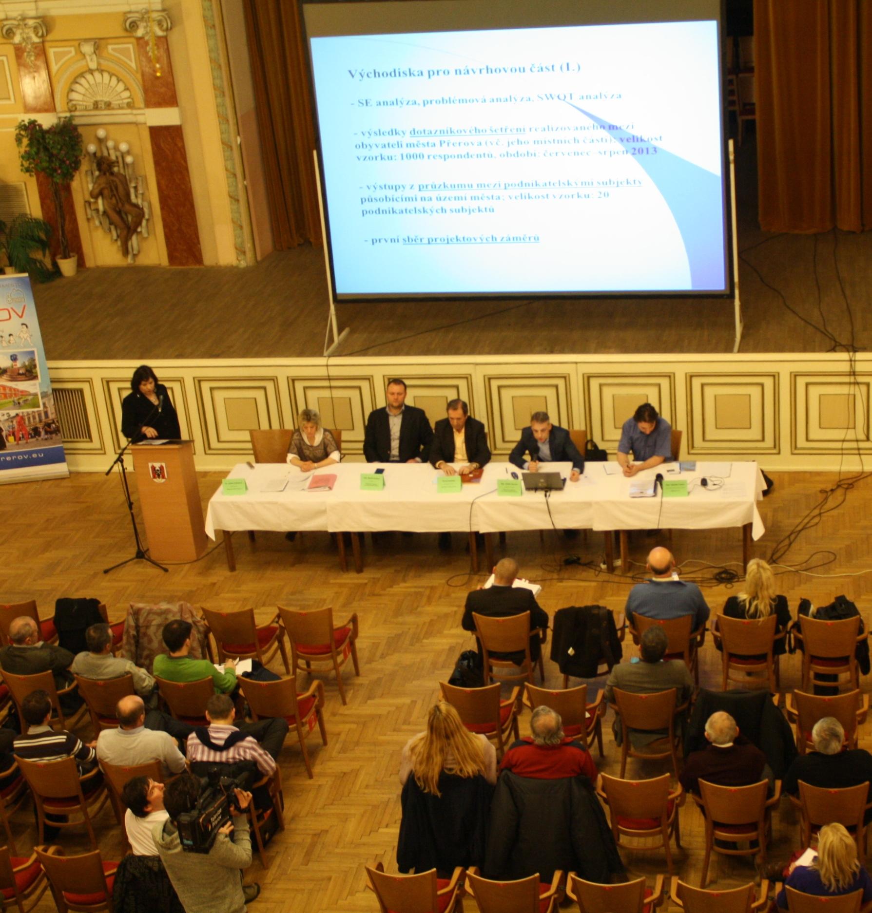 Strategický plán ekonomického a územního rozvoje statutárního města Přerova pro období 2014 - 2020