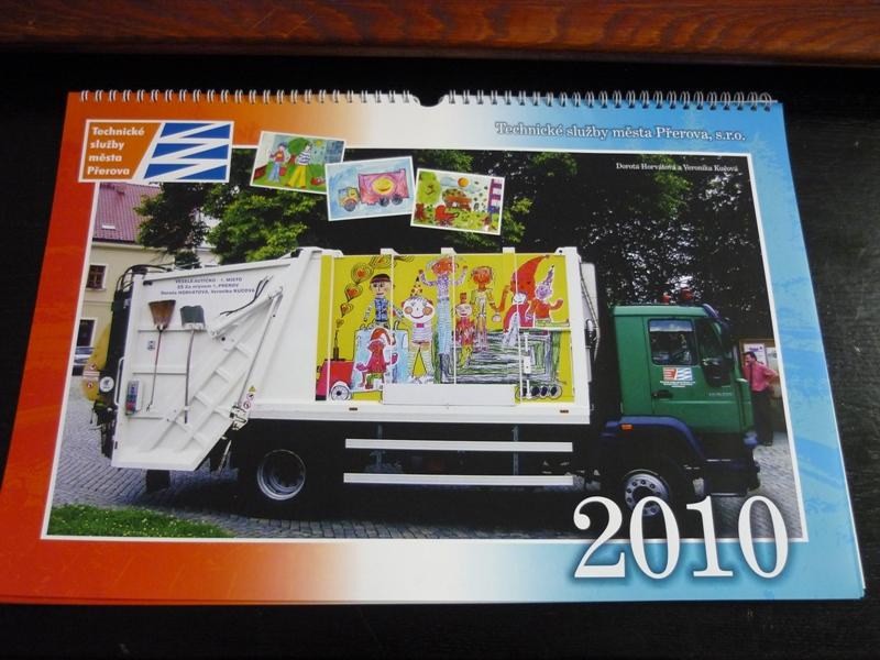 Kalendář Technických služeb, obrázek se otevře v novém okně