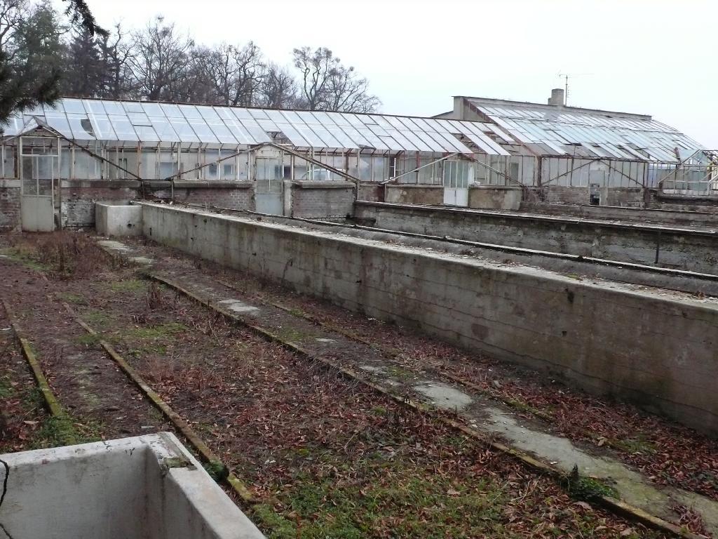 skleníky Michalov před rekonstrukcí 1, obrázek se otevře v novém okně