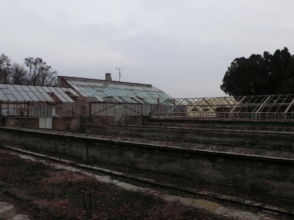 skleníky Michalov před rekonstrukcí 3, obrázek se otevře v novém okně