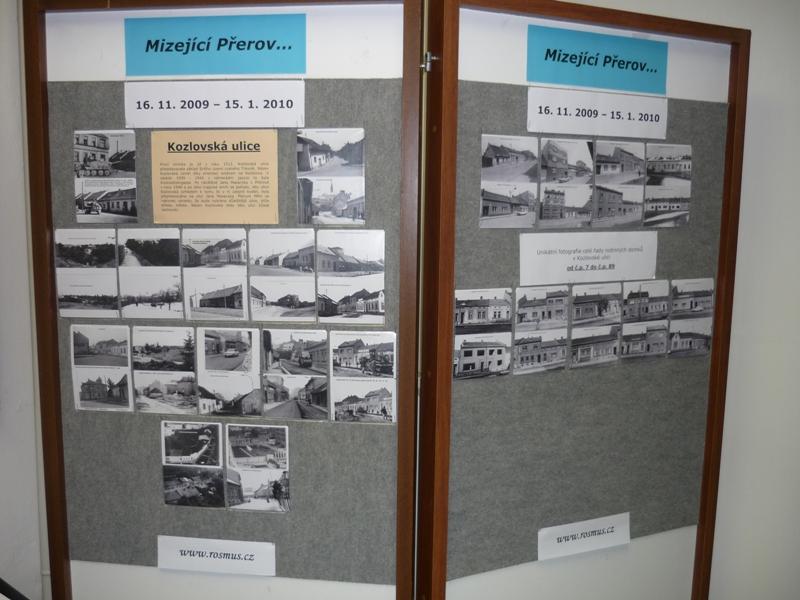 Výstava Mizející Přerov, obrázek se otevře v novém okně