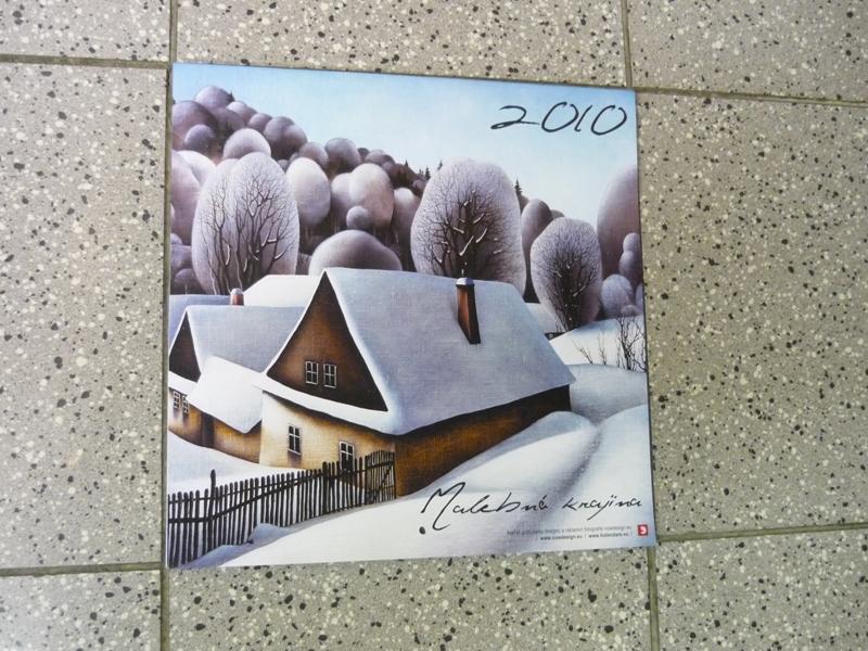 Nástěnný kalendář Malebná krajina, obrázek se otevře v novém okně