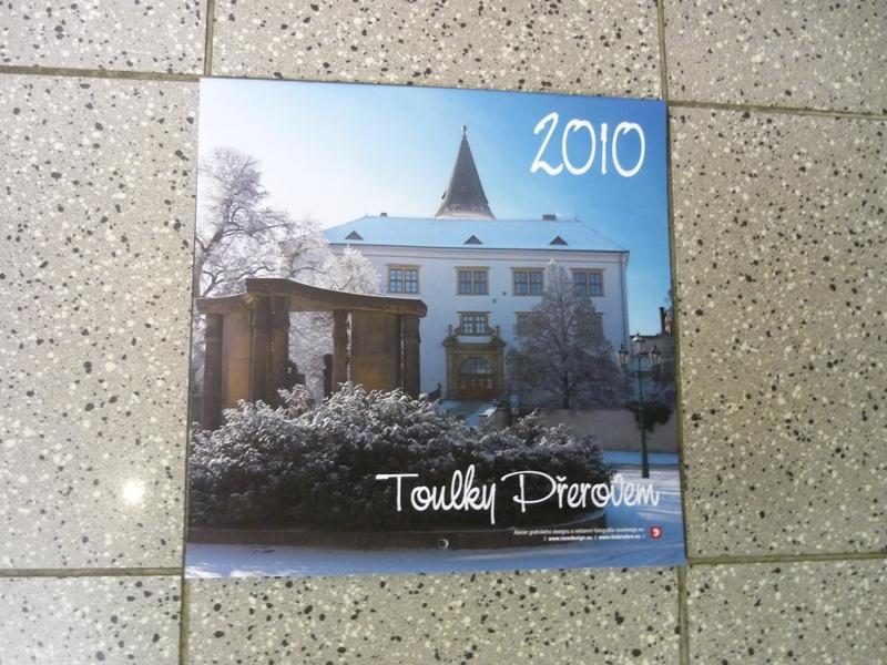 Nástěnný kalendář Toulky Přerovem, obrázek se otevře v novém okně