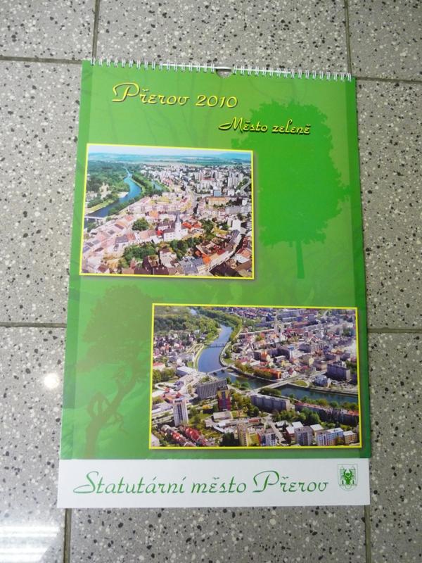 Nástěnný kalendář Přerova, obrázek se otevře v novém okně