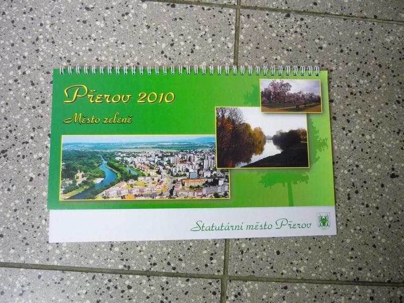 Stolní kalendář Přerova, obrázek se otevře v novém okně