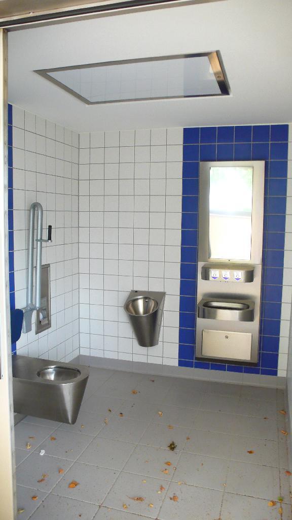 veřejné toalety infocentrum Předmostí, obrázek se otevře v novém okně