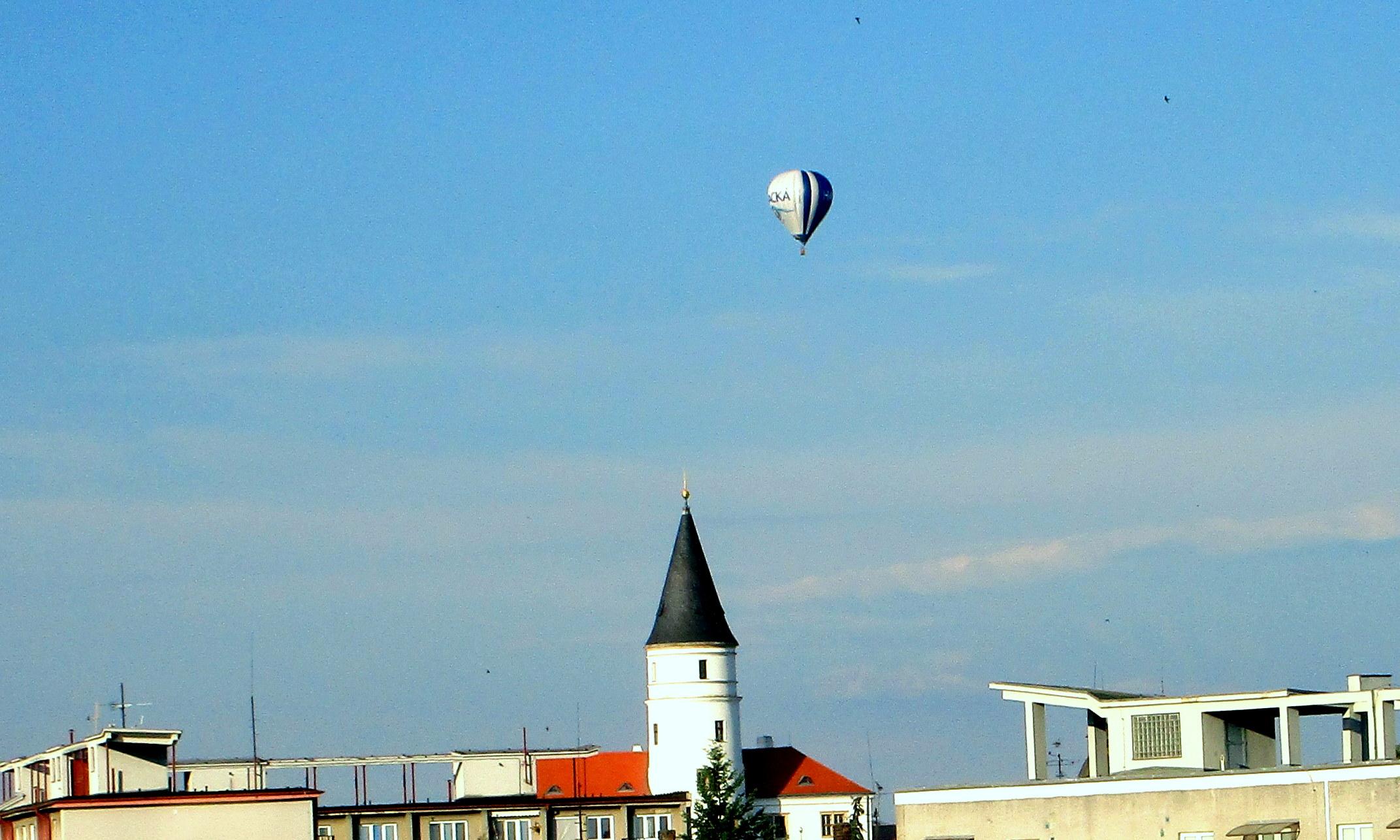 1 Přesné oko pilota balónu