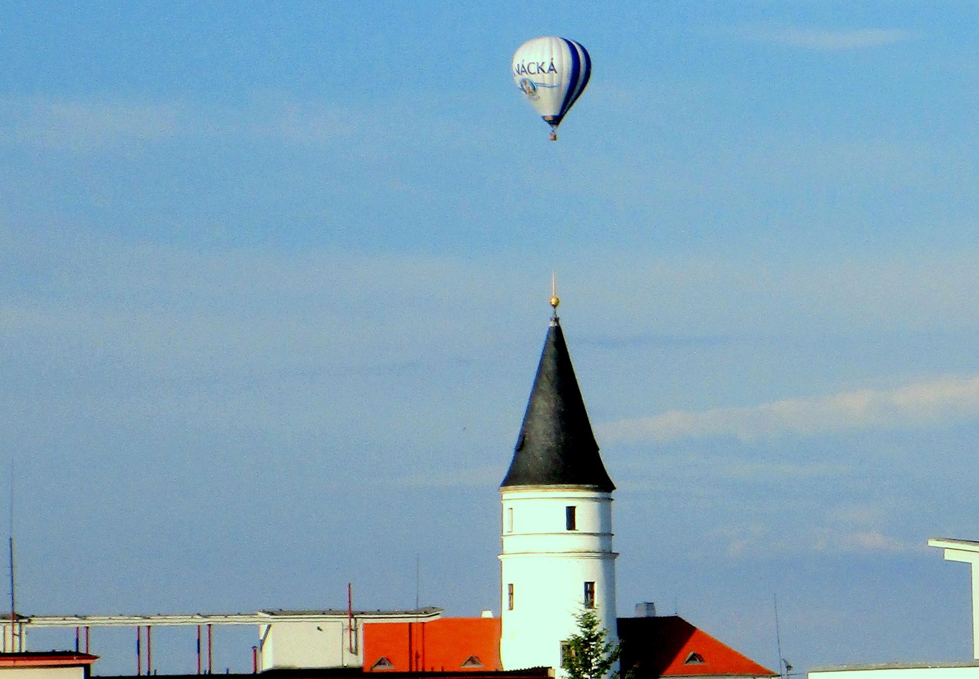2 Přesné oko pilota balónu