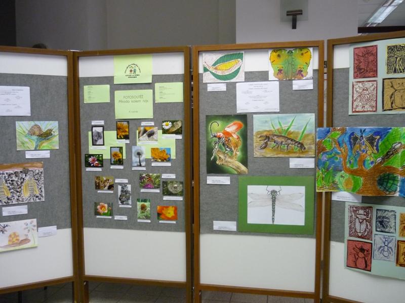 Výstava SVČ Atlas a BIOS, obrázek se otevře v novém okně