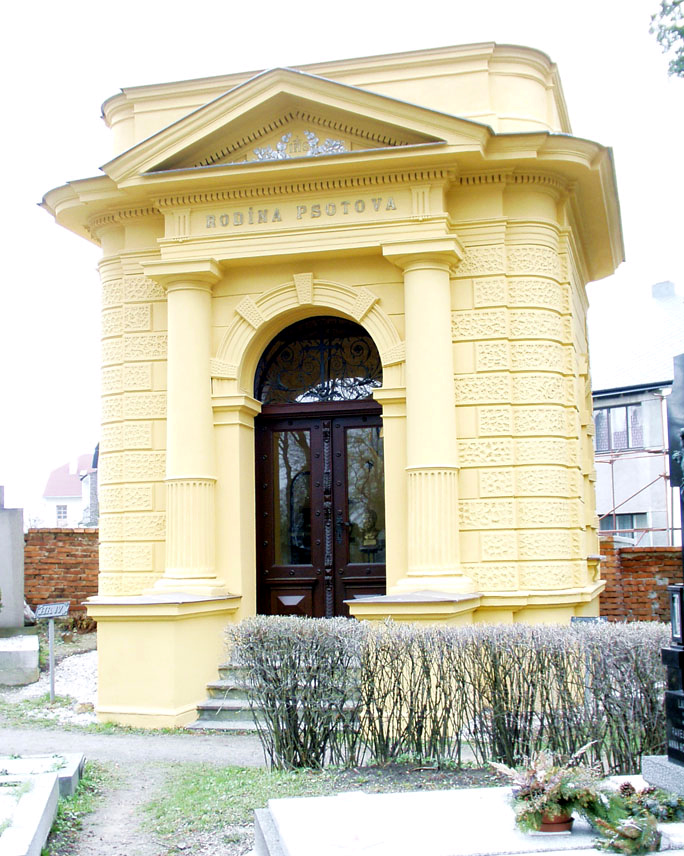 16,28,29,30 Psotova Hrobka, František kramář, obrázek se otevře v novém okně