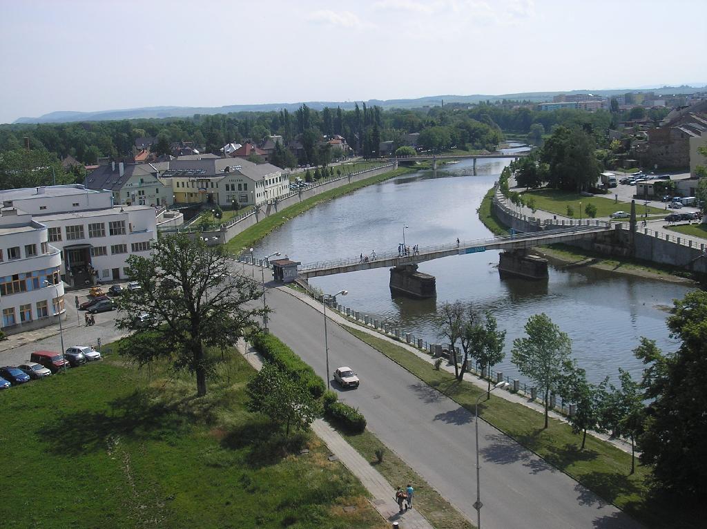 Řeka Bečva, obrázek se otevře v novém okně