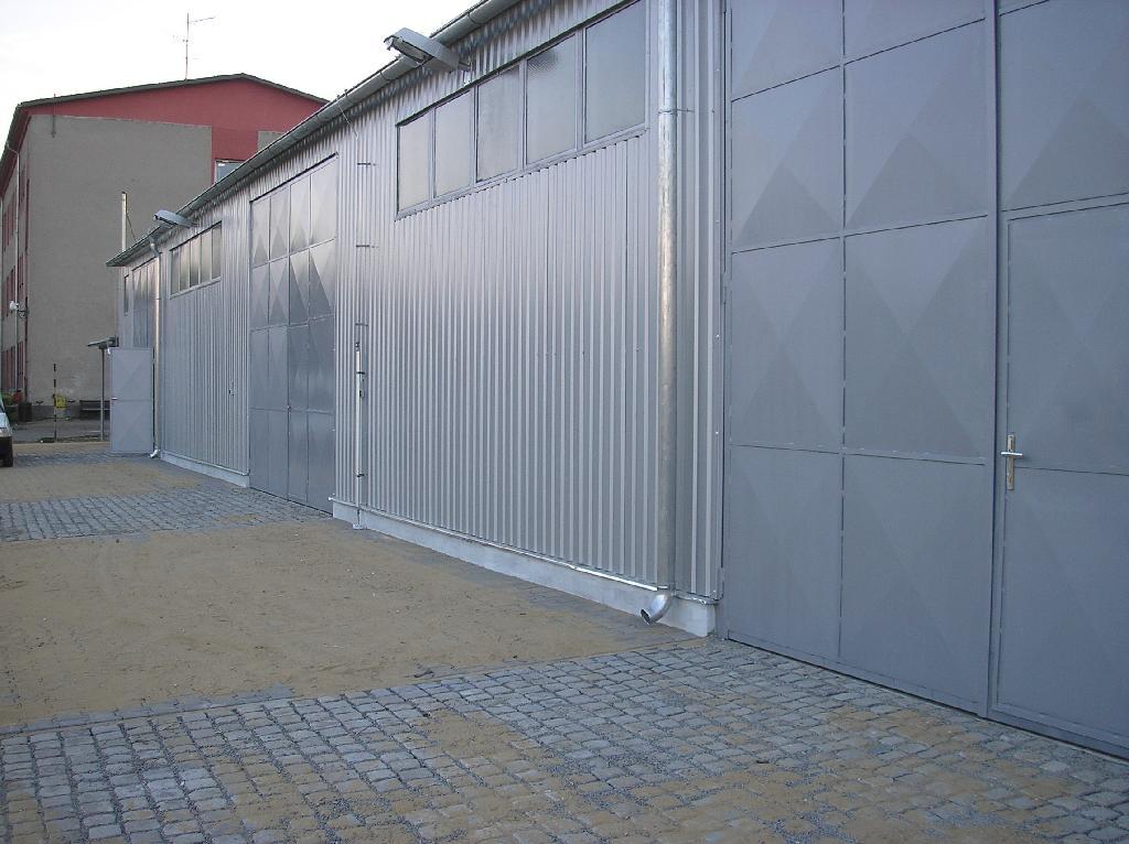 Hala pro separaci odpadu - po realizaci 1, obrázek se otevře v novém okně