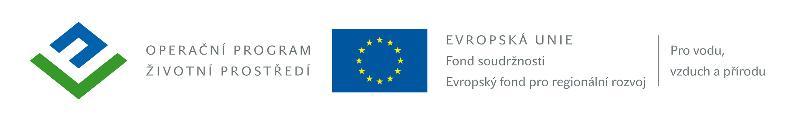 logo OPŽP - Fond soudržnosti -ERDF, obrázek se otevře v novém okně