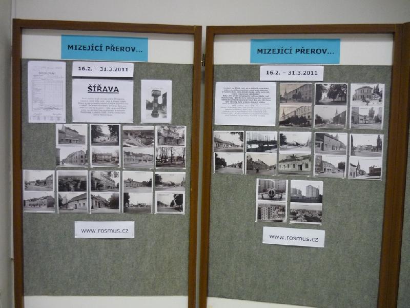 Výstava Mizející Přerov - Šířava, obrázek se otevře v novém okně