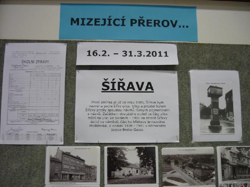 Výstava Mizející Přerov - Šířava II., obrázek se otevře v novém okně