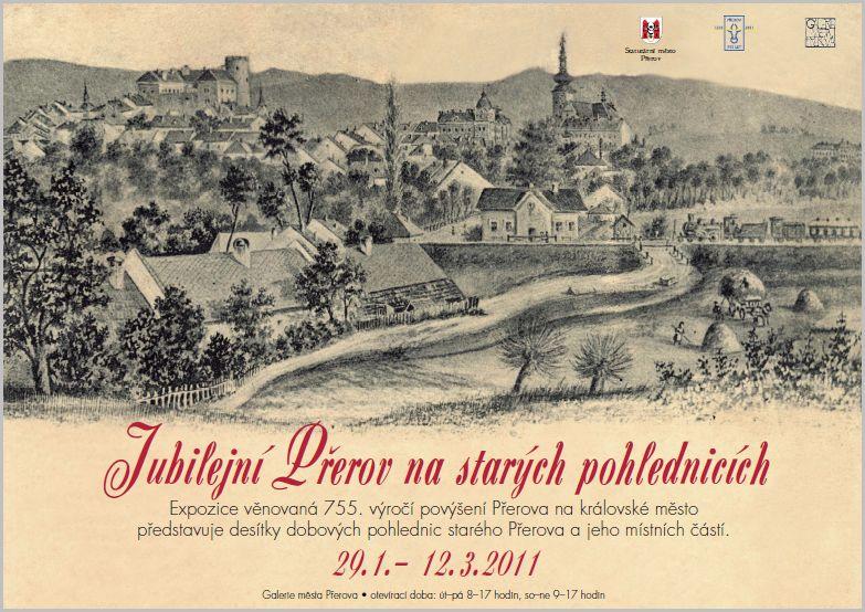 Jubilejní Přerov na starých pohlednicích, obrázek se otevře v novém okně