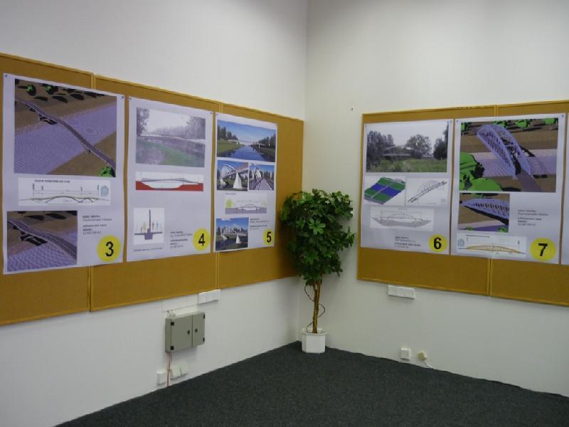 Výstava Lávka u tenisu, obrázek se otevře v novém okně