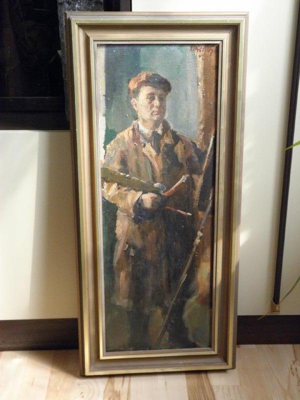 vlastní portrét Stanislava Krátkého, obrázek se otevře v novém okně