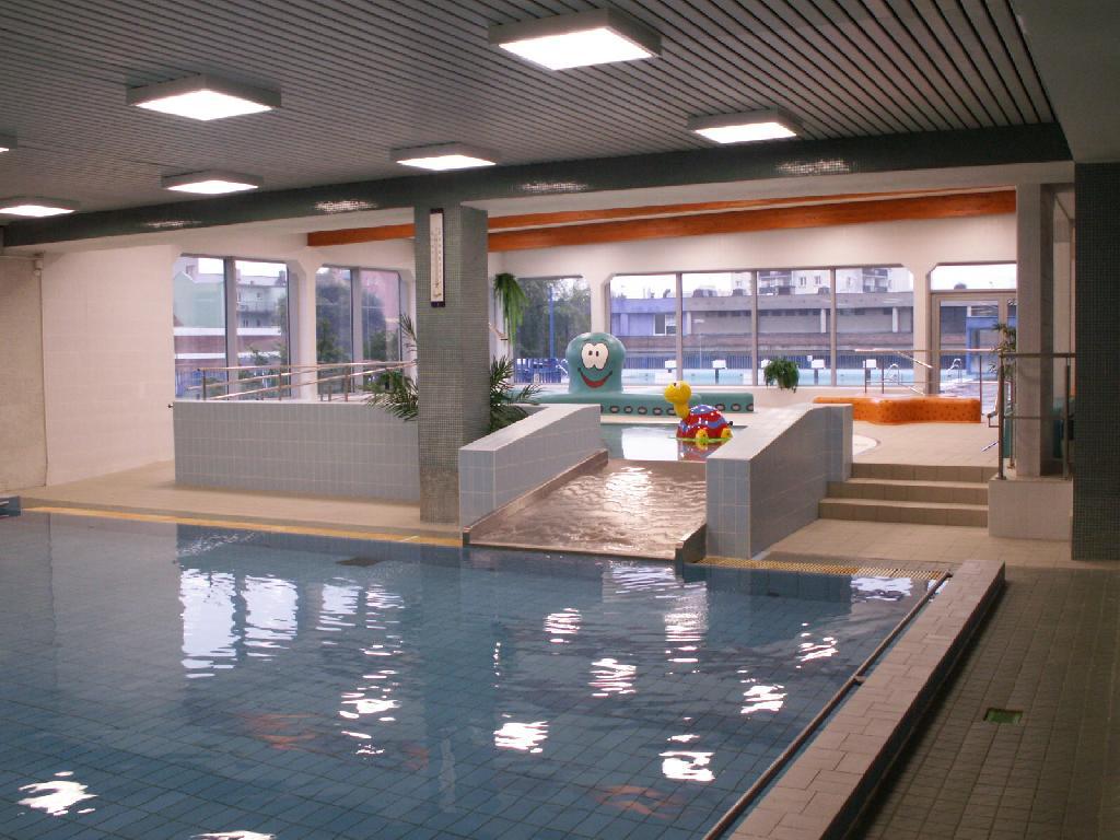 rozšíření vnitřní dětský bazén po realizaci, obrázek se otevře v novém okně