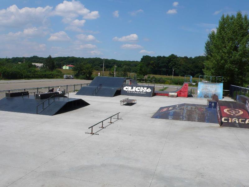 Skatepark, obrázek se otevře v novém okně